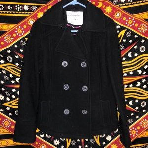 Black Aeropostale Pea Coat